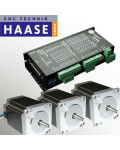 3 Achsen Drive Set Leadshine digital MX3660 -6A - 50V für CNC Fräsmaschine