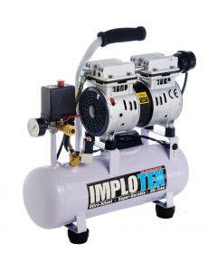 480W Silent Flüsterkompressor Druckluftkompressor nur 48dB leise ölfrei