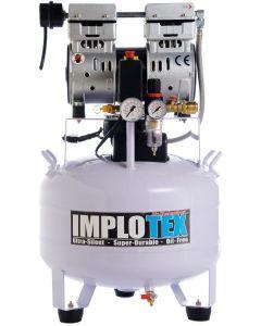 850W Silent Flüsterkompressor Druckluftkompressor nur 55dB leise ölfrei