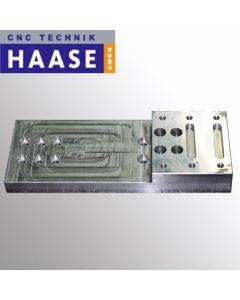Adapterplatte für Elte Spindeln auf Haase CNC Fräsen