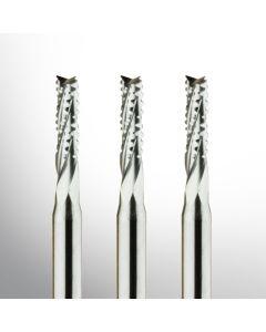 VHM Fräser - Spiralverzahnt Ø 0.50mm - Ø 3.175mm