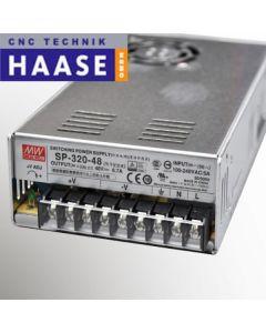 Geregeltes Schaltnetzteil MeanWell SP320 - 48V - 6,7A